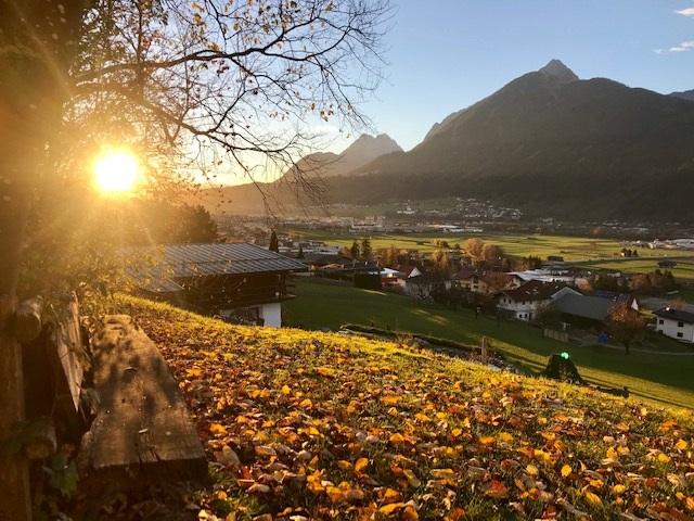 Der Reiseblogger im Herbst in Tirol - tolle Sonnenuntergänge!