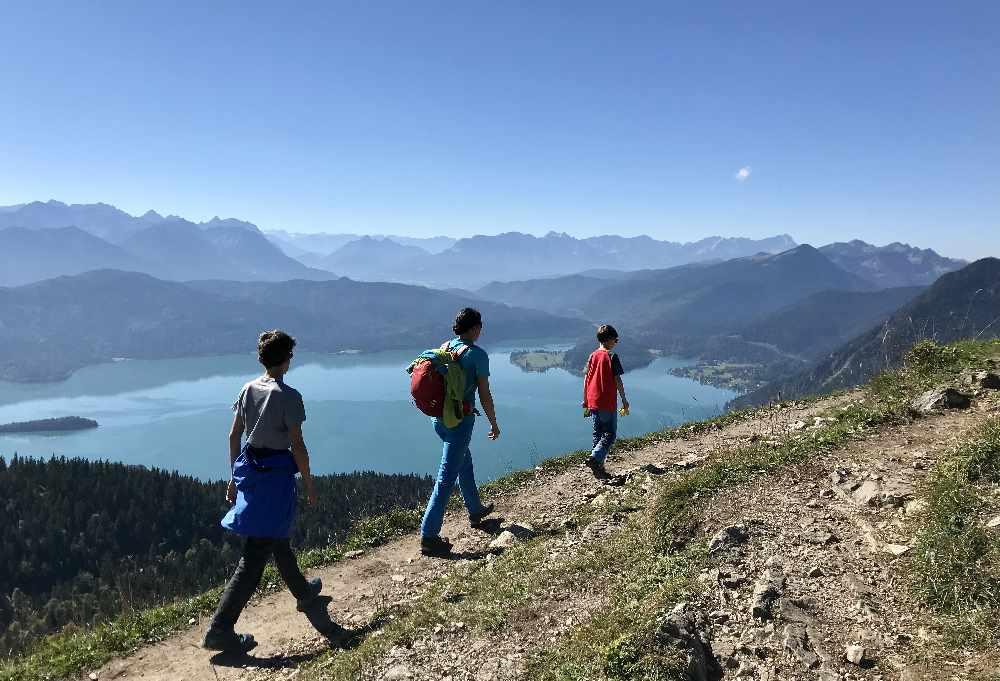 Reiseblogger Tipp: Am Walchensee wandern mit Kindern