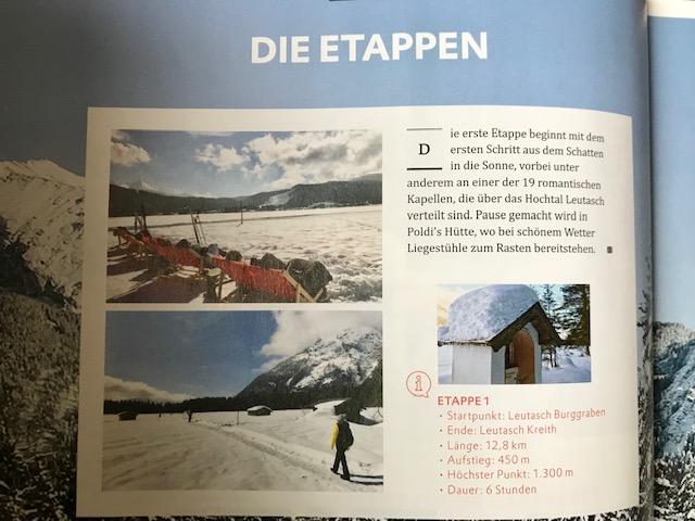 Schneewandern in Tirol