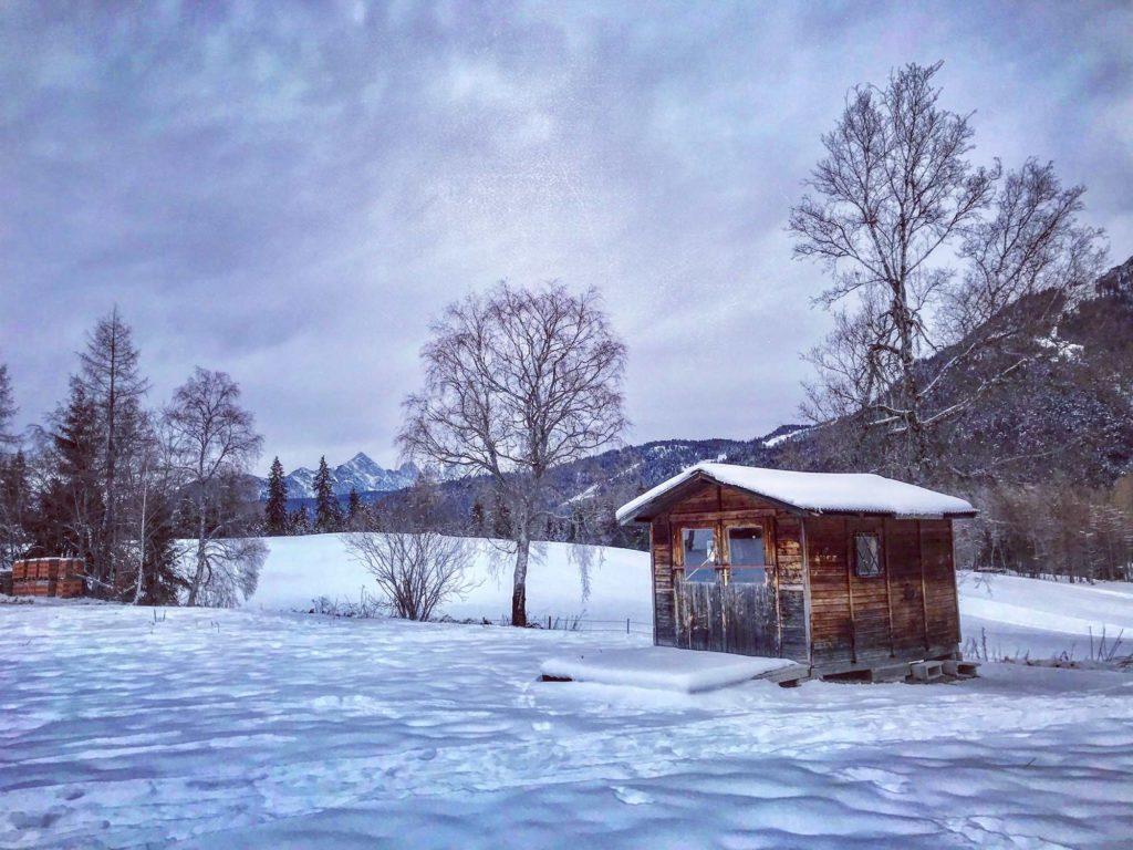 Von Auland auf den Gschwandtkopf - Schneeschuhwandern in Seefeld
