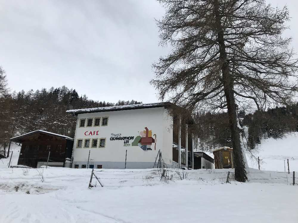 Von Auland beim ehemaligen Skilift auf den Gschwandtkopf