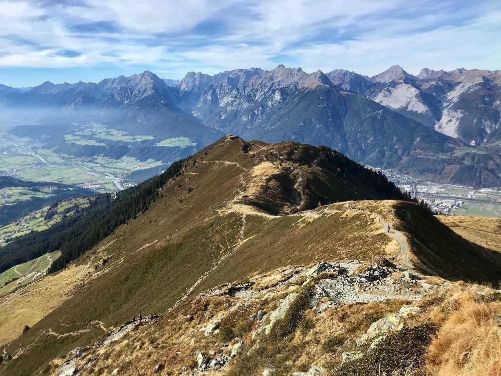 Das Kellerjoch - ein Berg mit einer großen Aussicht