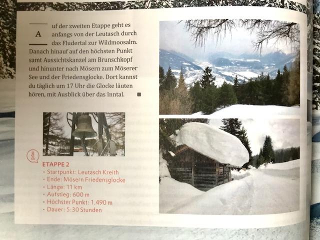 Winter in Tirol - beim Schneewandern