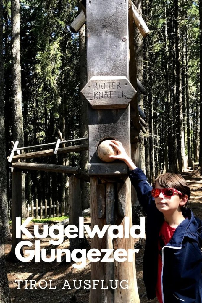 Tirol Blog Tipps merken - der Kugelwald Glungezer Pin