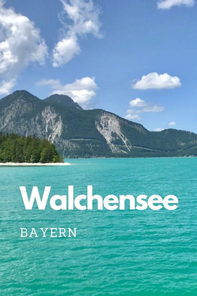Reiseblogger Bayern: Die bayerische Karibik - der Walchensee
