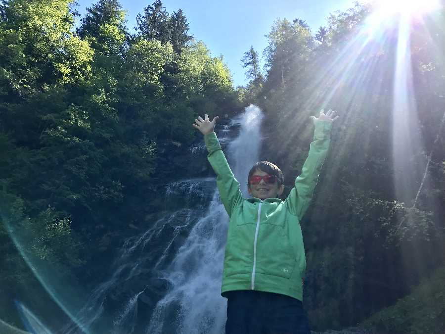 Zillertal Wasserfall - ein schönes Ziel zum Wandern in Tirol