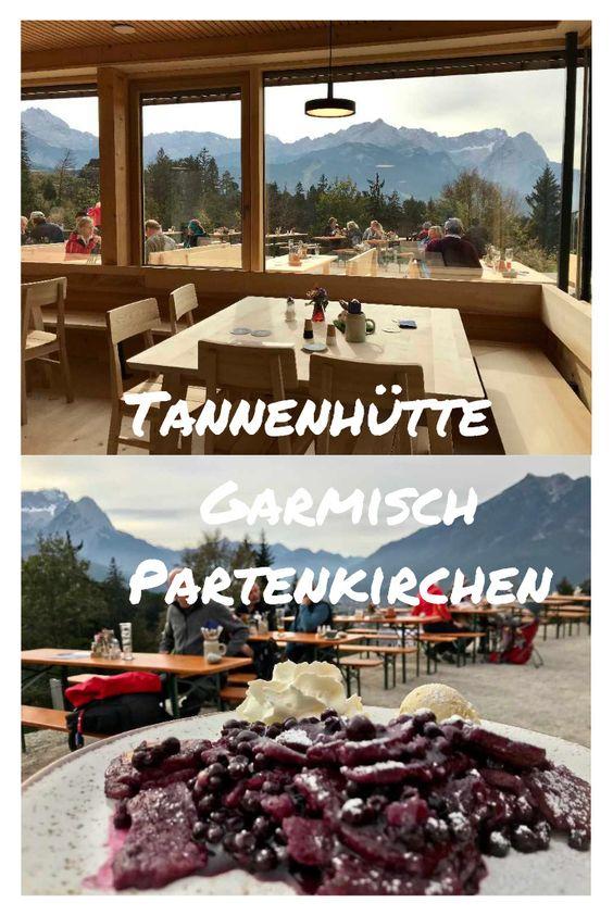 Blaubeerschmarrn auf der Tannenhütte in Garmisch Partenkirchen