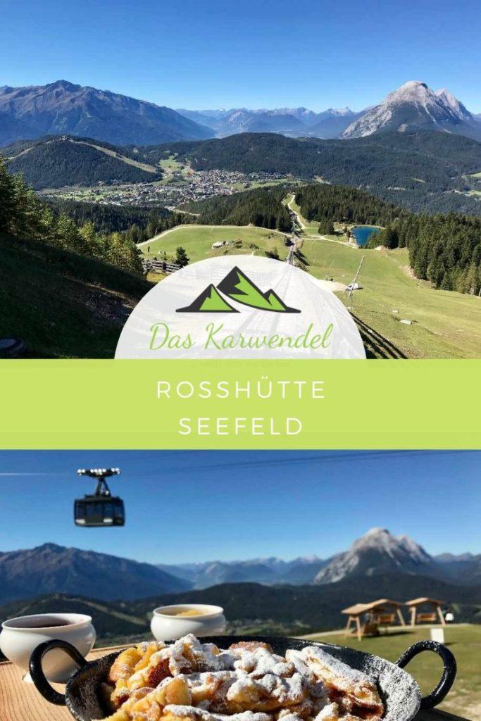 Mit der Bergbahn zum Kaiserschmarrn auf der Rosshütte in Seefeld