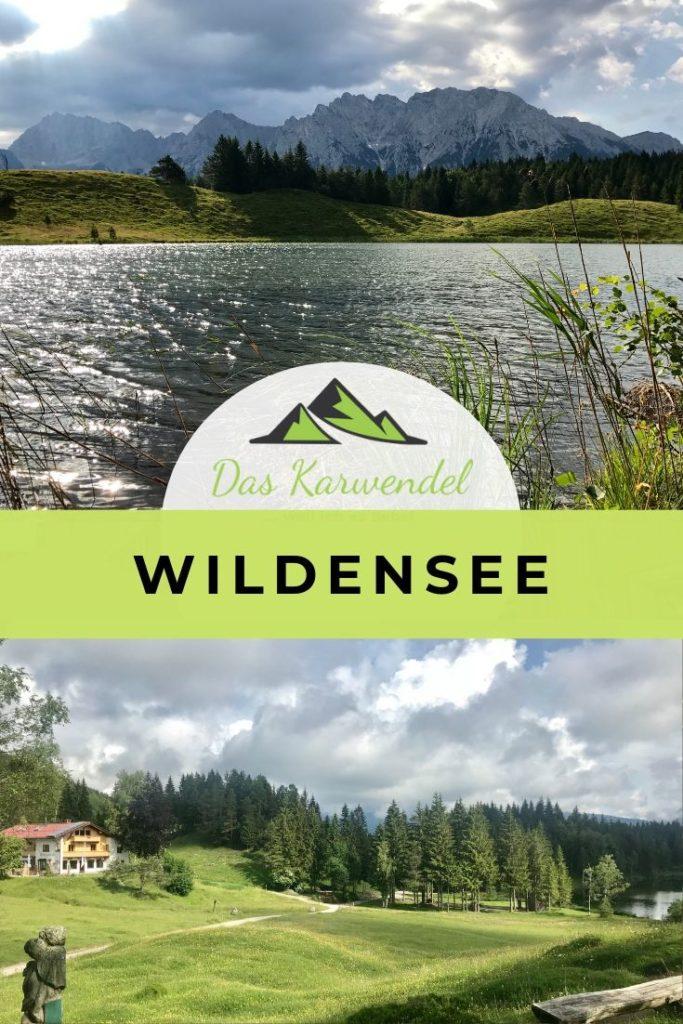 Herbstwanderung am Wildensee: Kranzberg in Mittenwald -mit der Wildenseehütte