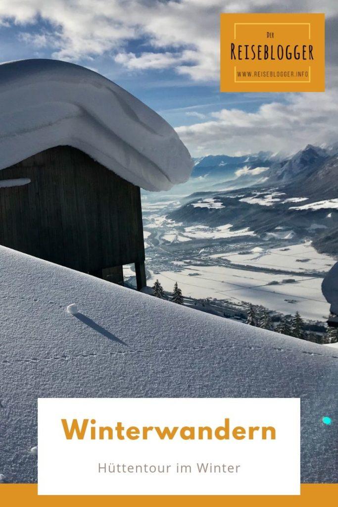 Winterwandern Alpen - merk dir diesen Pin auf Pinterest - für deinen nächsten Winterurlaub!