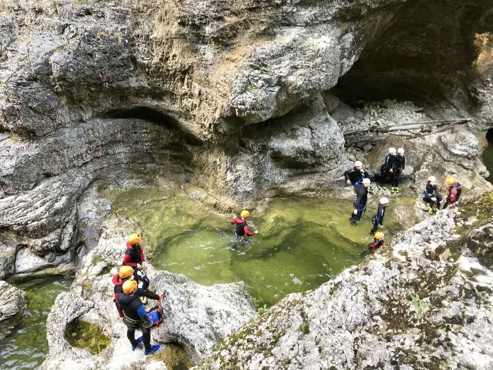 Canyoning Salzburg - Natur Reiseziele Salzburg entdecken