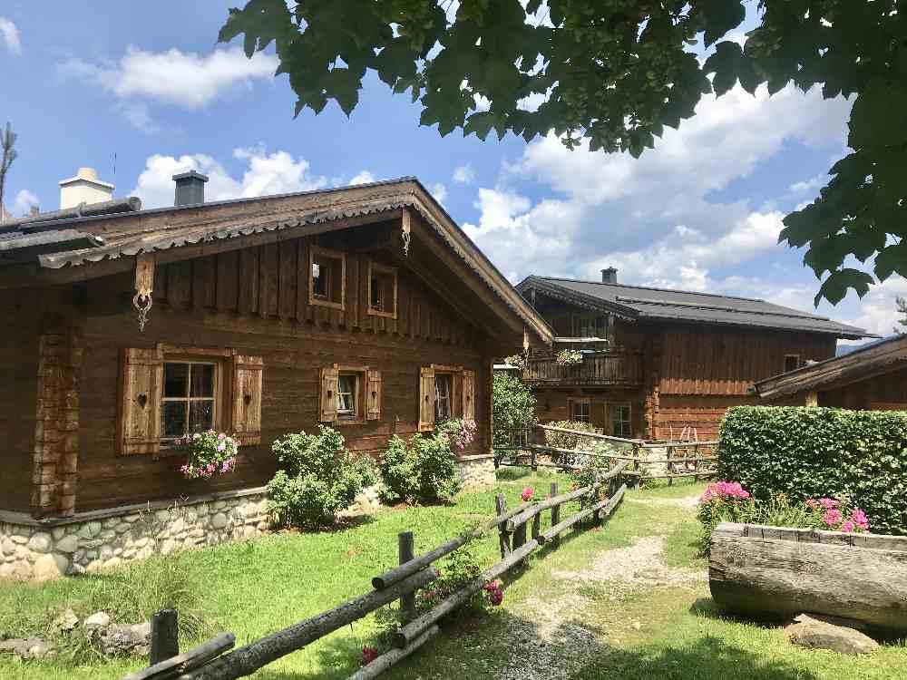 Hüttendorf Salzburger Land - die Almlust ist sehr zu empfehlen