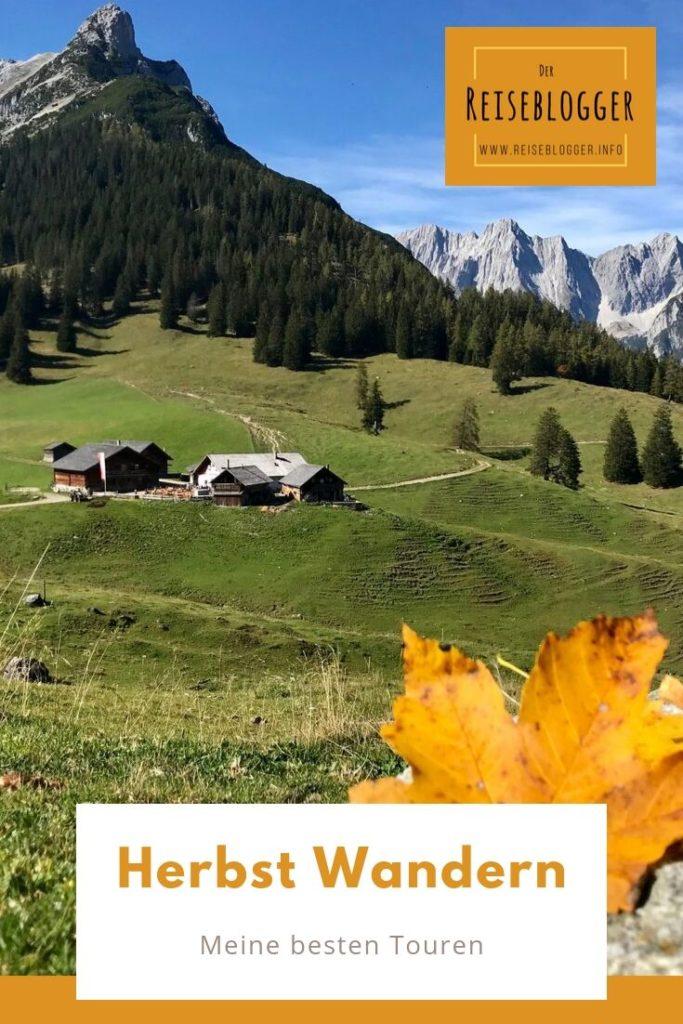 Herbstwandern - das sind meine besten Herbstwanderungen für dich