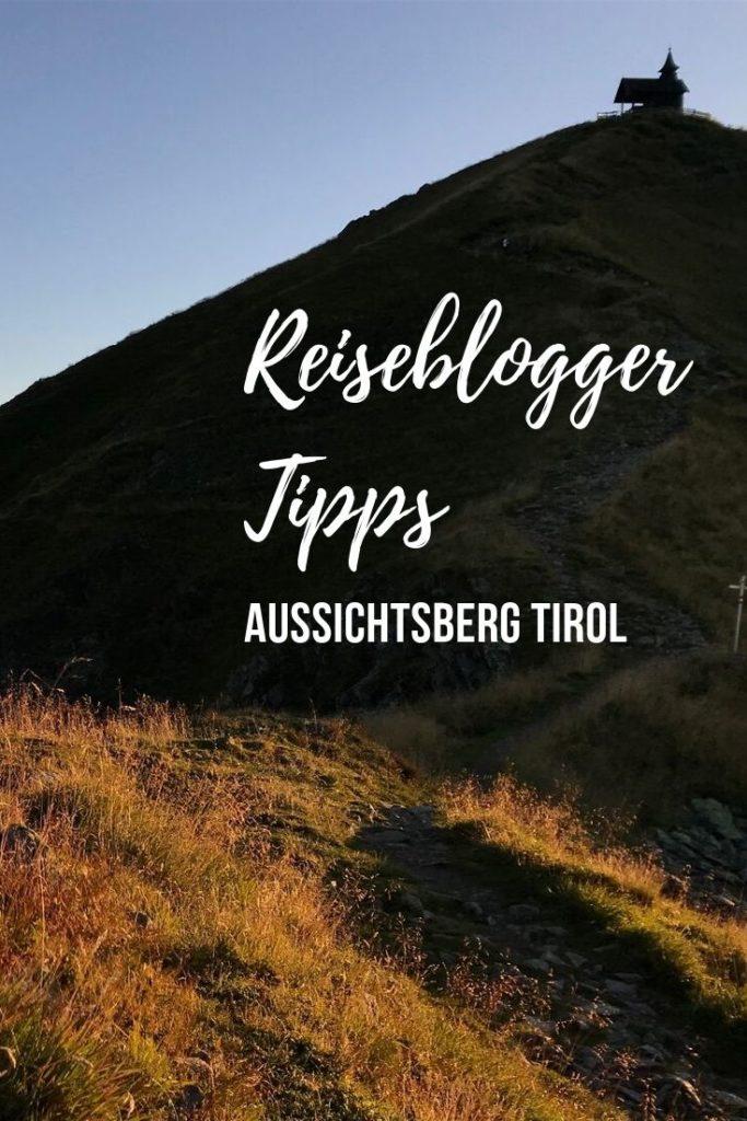 Aussichtsberg in Tirol - merken für die nächste Tour!
