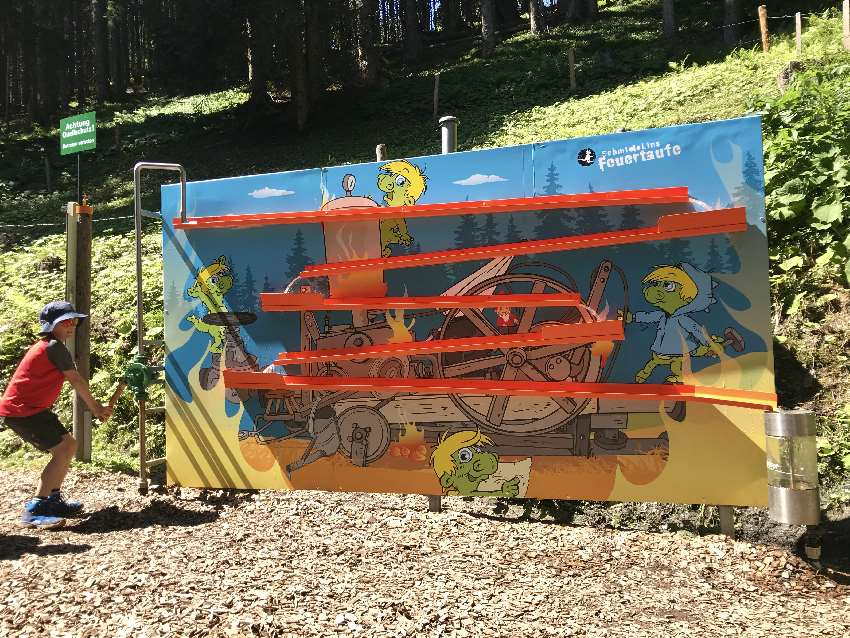Im Sommer Spaß bei Schmidolins Feuertaufe auf der Schmittenhöhe