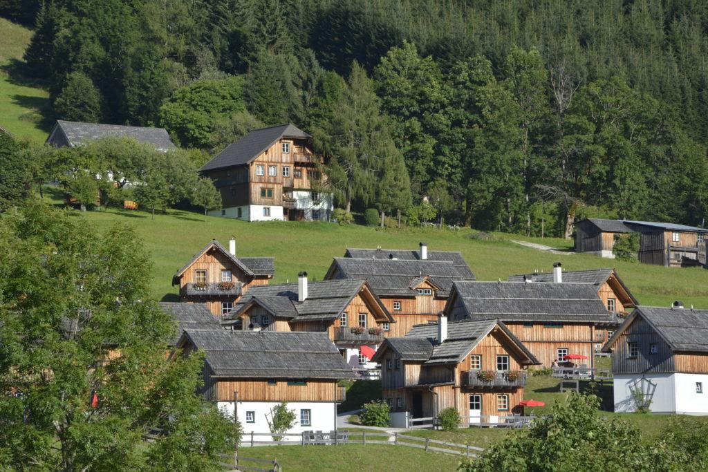 Hüttendorf Österreich - die Hagan Lodge