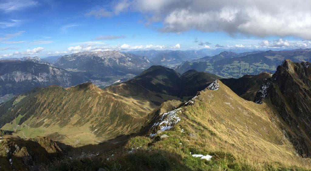 Das Kellerjoch Panorama in Tirol