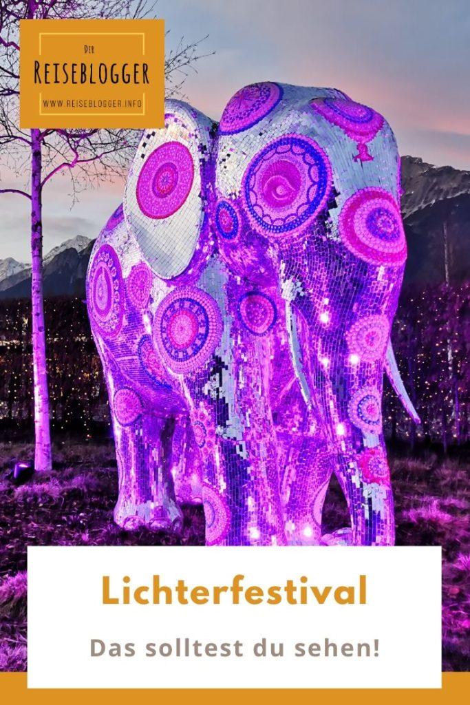 Swarovski Kristallwelten Lichterfestival merken für deinen nächsten Tirol Ausflug