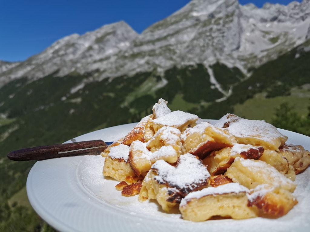 bester Kaiserschmarrn Tirol? - auf dem Karwendelhaus hat er mir super geschmeckt