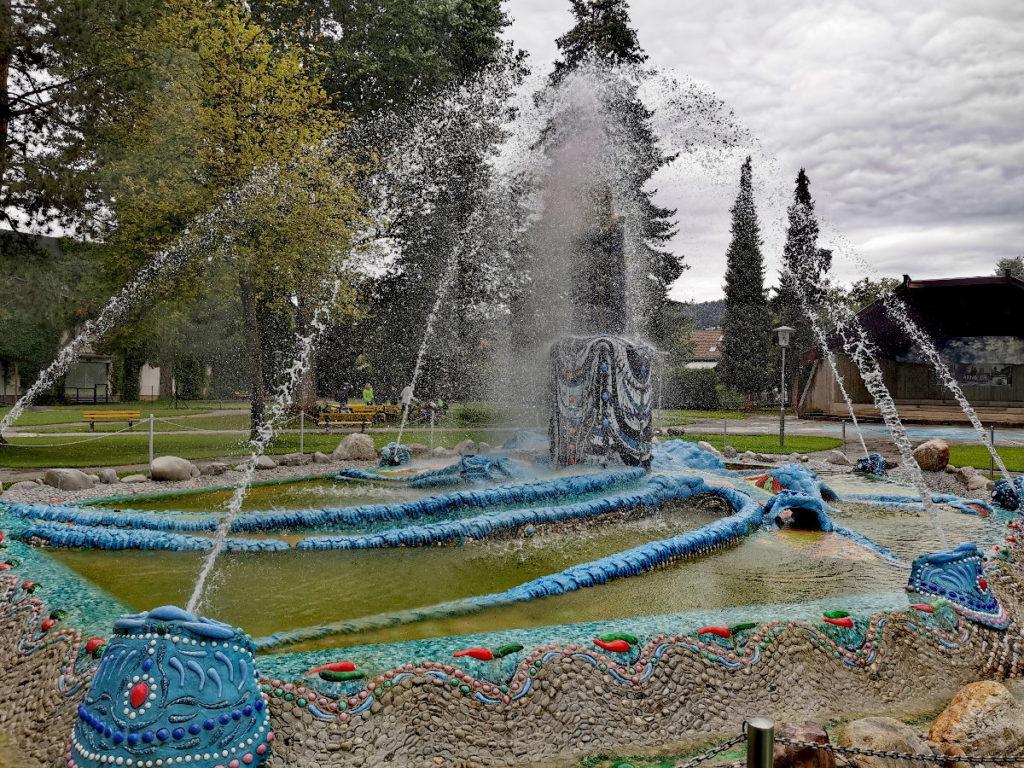 Der Mosesbrunnen - eine der Bärnbach Sehenswürdigkeiten nach der Kirche