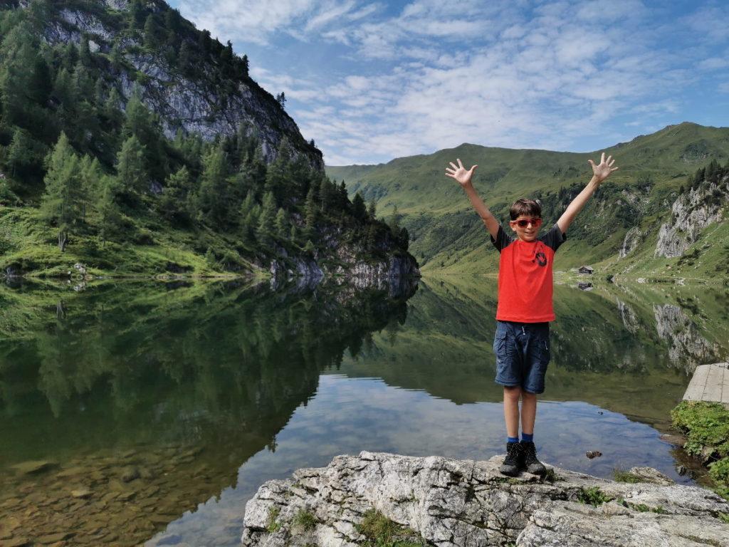 Tappenkarsee - einmalig schöner Bergsee im Salzburger Land