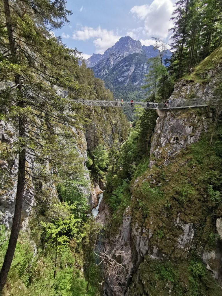 Reiseziele Bayern: Die Leutaschklamm bei Mittenwald