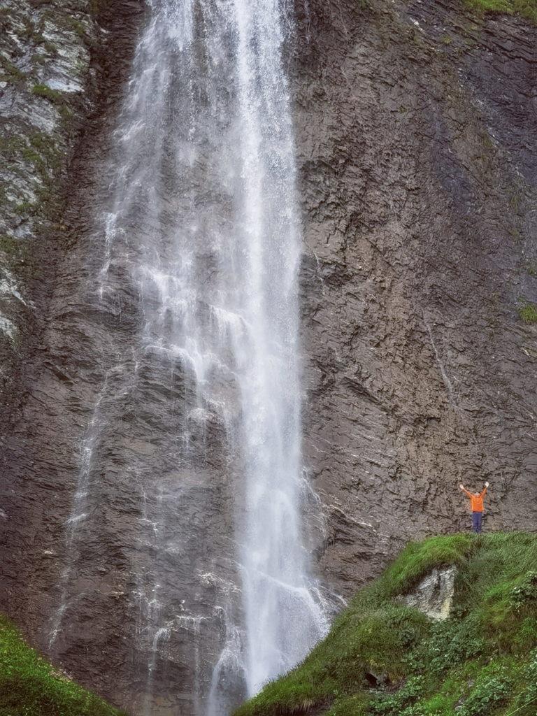 Tirol Reiseziele Zillertal - besuch mal diese riesigen Wasserfälle