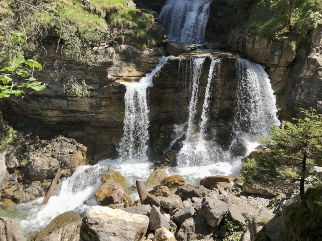 Reiseblogger Deutschland Tipp: Die Kuhflucht Wasserfälle bei Garmisch Partenkirchen