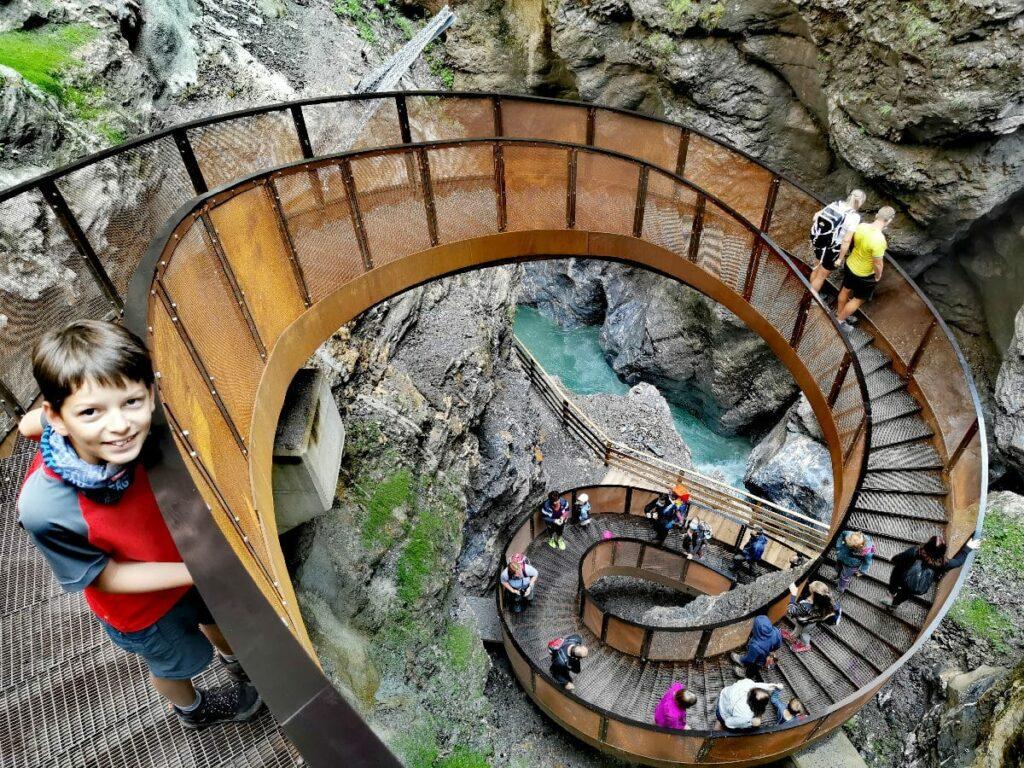 Diese Klamm ist einer der tollen Sehenswürdigkeiten im Salzburgerland
