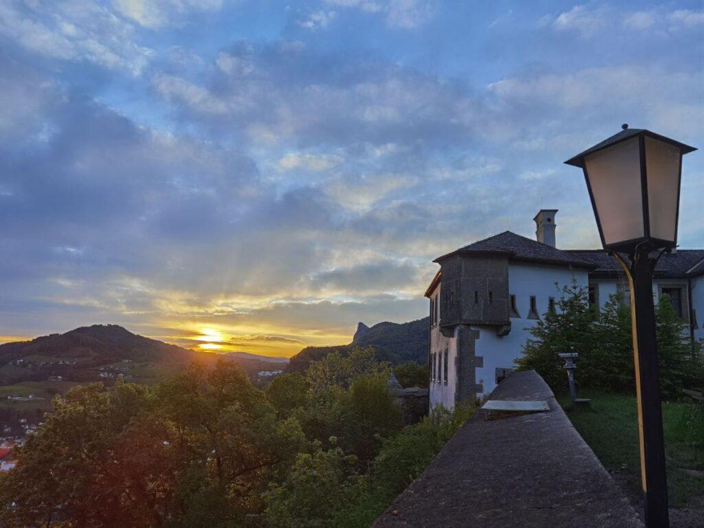 Sonnenaufgangswanderung Salzburg - hier kannst du diese magische Stimmung erleben
