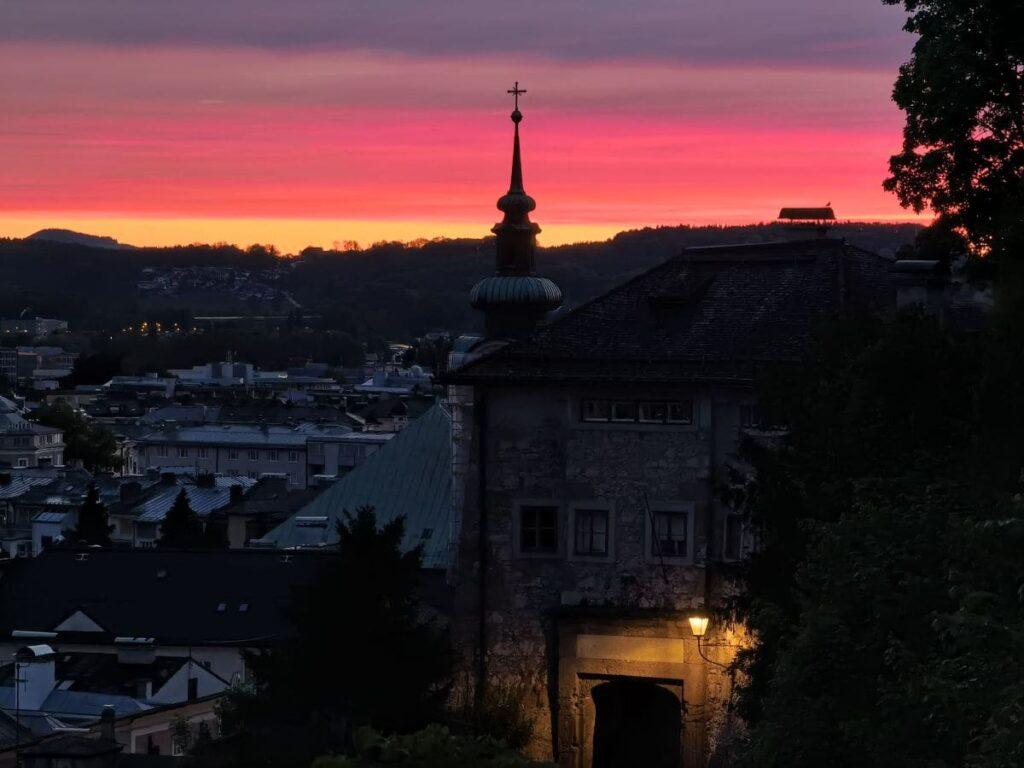 Sonnenaufgangswanderung Salzburg - wir haben sogar einen Tipp für eine Tour von der Stadt Salzburg zum Sonnenaufgang