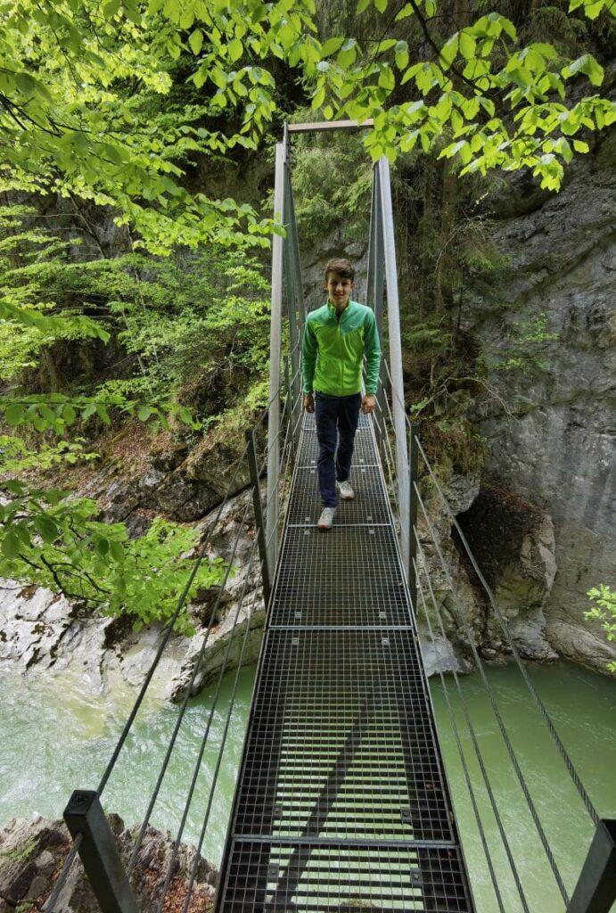 Die Tiefenbachklamm in Tirol, Brandenberg