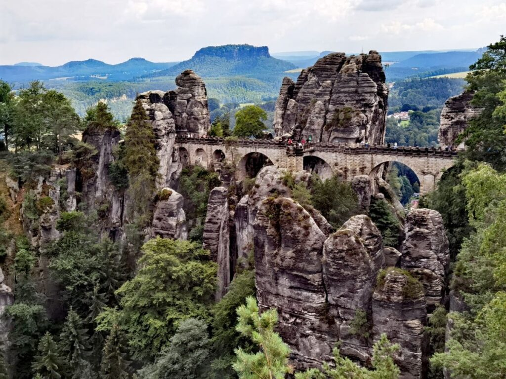 Traumhafte Reiseziele in Deutschland entdecken - unser Reiseblogger Trip zur Basteibrücke